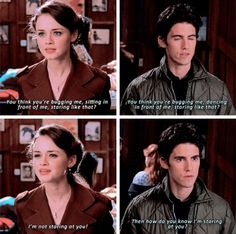 Jess Gilmore, Gilmore Girls Quotes, Rory And Jess, Team Logan, Funny Instagram Memes, Glimore Girls, Milo Ventimiglia, Girl Memes, Movie Lines