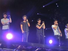 i was there. at their concert. harry waved. and i kind if died bye
