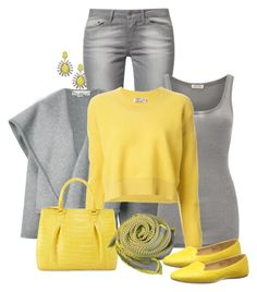 See By Chloe Sweater by ginga1203 on Polyvore featuring polyvore, fashion, style, See by Chloé, American Vintage, STELLA McCARTNEY, Levi's, Nine West, Nancy Gonzalez, ABS by Allen Schwartz, Terracotta New York and clothing