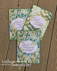 Kathryn's Stampin' World: Art with Heart Team Creative Showcase - New Catalogue Products