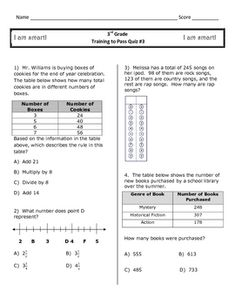 Worksheets 3rd Grade Math Staar Test Practice Worksheets pinterest the worlds catalog of ideas 3rd grade math staar ready review quizzes 1 4 2 50