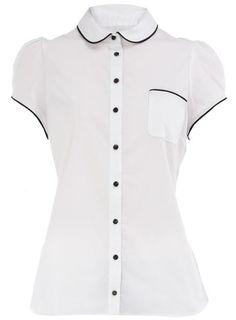 Dorothy Perkins - Black Tipped Shirt