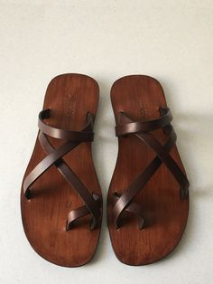 Handmade Leather Sandals for Men by KellyGeneSandals on Etsy