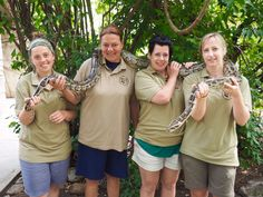 Aviva Volunteers at the Hoedspruit Endangered Species Centre. You don't only get involved with cheetahs, orphaned rhinos and elephants but get to know a large range of animals and reptiles.
