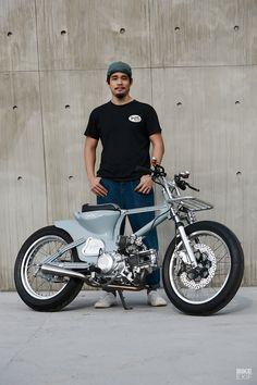 Honda Bikes, Honda Motorcycles, Cars And Motorcycles, Vintage Motorcycles For Sale, Soichiro Honda, Honda Cub, Commuter Bike, Mini Bike, Motorcycle Bike