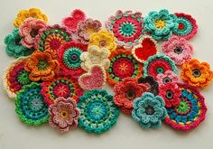 gorgeous granny square/crochet inspiration!