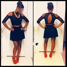 Off-the shoulder Mini dress Off-the shoulder black mini dress Dresses Mini
