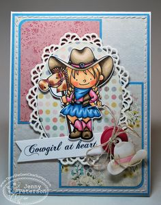 Created by Jenny Peterson! for There She Goes Clear Stamps