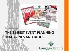 Event Planning Magazines Event Management, Event Planning, Magazines, 21st, Blog, Journals, Magazine