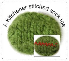 """TECHknitting: An easier way to Kitchener Stitch (also called """"grafting seams"""" or """"weaving seams"""") using your knitting needles not a darning needle Knitting Blogs, Loom Knitting, Knitting Socks, Knitting Patterns, Knitting Tutorials, Knitting Needles, Knitting Charts, Knitting Ideas, Baby Patterns"""