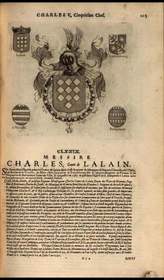 183. 1531, 20th chapter of the Order, Tournai; Charles, 2nd Comte de Lalaing (1506-1558).
