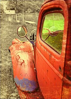Autumn art rustic decor truck photography man by CarlChristensen on imgfave