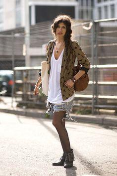 Pamela Love Street style