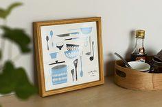 オリジナルポスター/シルクスクリーン/ジャム作りの道具 - 北欧雑貨と北欧食器の通販サイト  北欧、暮らしの道具店