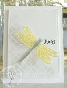#stampinup dragonfly dreams