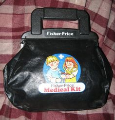 we still have this in our toy drawer. i would wear the stethoscope and talk into it to hear my voice.