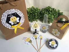 Tons de Festa: Cha de bebe abelhinha