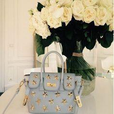 SO LOVELY ! [VASA] Twinkle Bag_Gray Small