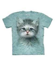 Another great find on #zulily! Blue-Eyed Kitten Tee - Toddler, Girls, Women & Plus by The Mountain #zulilyfinds