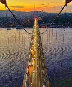Istanbul, Fair Grounds, Places To Visit, Fun, Travel, Fairy Tales, Bridge, Nice, Viajes