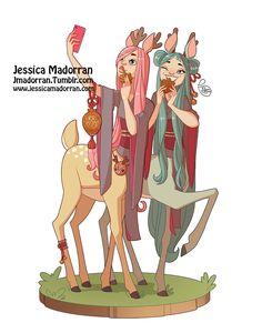 "jmadorran: ""Japan inspired character 13. :D """