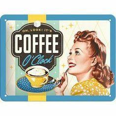 Retro Ads, Vintage Advertisements, Retro Advertising, Vintage Labels, Vintage Ads, I Love Coffee, Coffee Shop, Joe Coffee, Pin Up Vintage