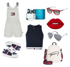 """""""Untitled #61"""" by ardrey on Polyvore featuring Tommy Hilfiger and Lime Crime"""
