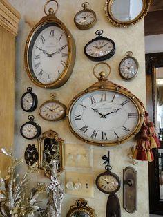 12 inspirative unique home interior accessories for minimalist house that quite easy to perform and spend minimum budget. Old Clocks, Antique Clocks, Wall Of Clocks, Vintage Clocks, Clock Art, Clock Decor, Home Interior Accessories, Elk Accessories, Interior Design