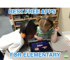 My favorite 22 FREE apps for Elementary Classrooms.