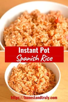 Spanish rice is a delicious and simple accompaniment to any Mexican meal. Create your Instant Pot Spanish rice in a matter of minutes with a ton of flavor.