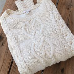 Boyfriend cotton knit sweater In great condition GAP Sweaters