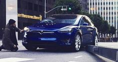 Tesla Model 3 Or Model X? We Think It's The Latter… #Electric_Vehicles #Scoops