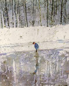 How a few public art galleries beat the art market: the case of Peter Doig Peter Doig, Contemporary Landscape, Contemporary Paintings, Walker Art, Art Uk, City Art, Artist At Work, Artist Art, Public Art