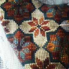 Palestinian Embroidery, Big Project, A5, Needlepoint, Cord, Projects To Try, Cross Stitch, Pillows, Crochet