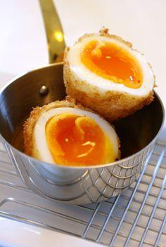 Japanese Hanjuku Tamago Egg