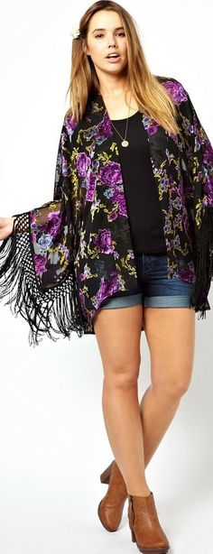 Boho Chic Plus Size Women's Clothing Plus Size Boho Chic