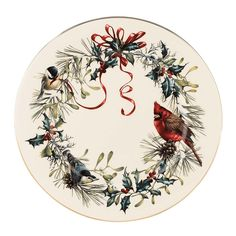 Christmas China Patterns You'll Love for Your Southern Home: Lenox 'Winter Greetings'