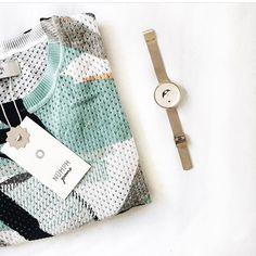 L O V E this colorful Nümph knit ♥