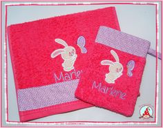 Fran used a design from Snuggle Bunny Applique from Bunnycup Embroidery.