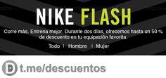 100 Ofertas Flash en NIKE desde su sitio Web - http://ift.tt/2lyUCnj