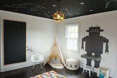 O teto pode dar um toque de aconchego, elegância ou descontração ao ambiente…