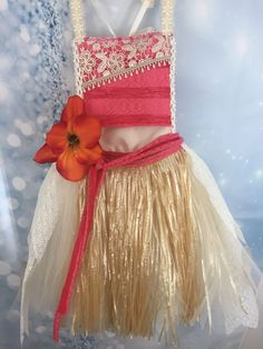 Adorable Moana Tutu dress fits Girls 7/8 FAST-SHIPPING #PjsDreams #Dress