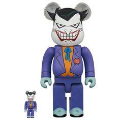 The Joker - Batman The Animated Series Ver. 100% + 400% Bearbrick Set (MAR2021) #thejoker #joker #batman #animatedseries #bearbrick #medicom #fatsuma #bearbrick400 #awesome #cool #instacool #beautiful #beauty #amazing #love #instalove #fun #art #instagood #collectible #toy #new Pokemon Charizard, Artist Branding, La Colors, Batman The Animated Series, Astro Boy, Good Smile, Mickey Minnie Mouse, Designer Toys, Animation Series