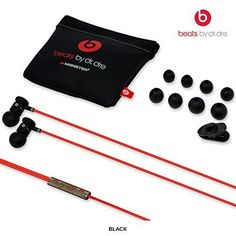 Beats by Dr.Dre in Ear Head Phones, Black: Cell Phones & Accessories