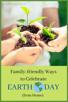 Looking for ways to celebrate Earth Day while social distancing? I've rounded up the best hands-on activities for celebrating Earth Day from home. Earth Day Activities, Art Therapy Activities, Art Activities For Kids, Hands On Activities, Stem Activities, Family Activities, Earth Day Crafts, How To Make Terrariums, Art Lessons Elementary