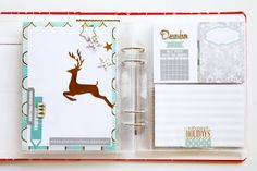 Picture 1 of December daily pages by JINAB Christmas Mini Albums, Christmas Journal, Christmas Minis, Christmas Holidays, Diy Scrapbook, Scrapbook Pages, Scrapbooking, Daily Journal, Bullet Journal