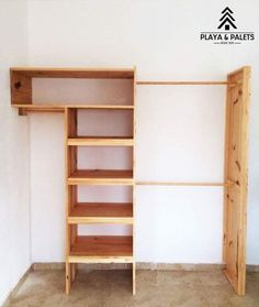 Ergonomic closet Ergonomic cabinet installation made in Tulum.♻️ Shipping to the Mexican Republic, budgets without obligation. IdeasEcologicas Design Furniture Rustic closet Cabinet made of pine wood, naturally Diy Custom Closet, Rustic Closet, Closet Remodel, Master Bedroom Closet, Diy Pallet Furniture, Trendy Bedroom, Home Projects, Home Remodeling, Diy Home Decor
