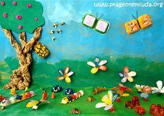 Pra Gente Miúda: Murais do Meio Ambiente com material reciclado