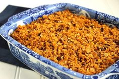 For some people, the traditional sweet potato casserole with the marshmallow topping is far too sweet. If you're looking for an option with less sugar, try this Sweet Potato Casserole with Cornflake Pecan Crust. Make Ahead Sweet Potato Casserole Recipe, Potatoe Casserole Recipes, Sweet Potato Recipes, Stuffing Recipes For Thanksgiving, Thanksgiving Meal, Christmas Recipes, Holiday Recipes, Deserts