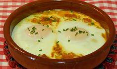 Como hacer huevos al horno a la Barcelonesa